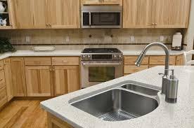 Natural Wood Kitchen Cabinets Kitchen Kitchen Kitchens With Hickory Cabinets Designer Hickory