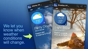 weather channel apk official weather channel app receives major ui update forecast
