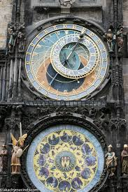 prague czech republic old town square tyn church and the