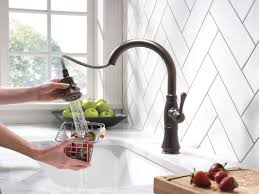 Kitchen Faucet With Spray Delta Cassidy Single Handle Pull Down Kitchen Faucet With Spray