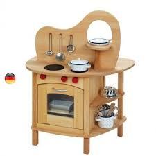 cuisine jouet cuisine avec four evier un jouet en bois massif gluckskafer