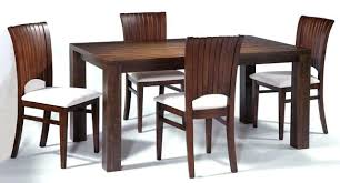 contemporary wood dining room sets modern reclaimed table mid