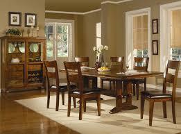 Dark Dining Table by Chair Picturesque A R T Furniture Firenze Ii Dark Oak Nine Piece