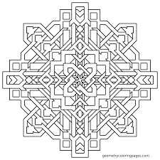 geometric printable free coloring pages on art coloring pages