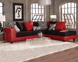 Klaussner Fletcher Sectional Red Sectional Sofas Roselawnlutheran