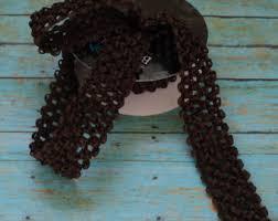 crochet elastic ribbon gray elastic waffle crochet ribbon 2 yards x 1 5 inches for