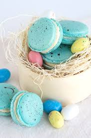 malted easter eggs malted milk macarons beautiful robin egg inspired