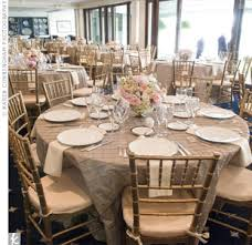 table overlays for wedding reception my tables gold chivari chairs with taupe pintuck linens my dream