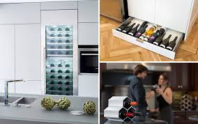 kitchen wine rack ideas 5 wine storage ideas for the kitchen contemporist