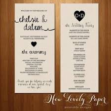 wedding programs sles 7 pretty wedding program ideas wedding programs