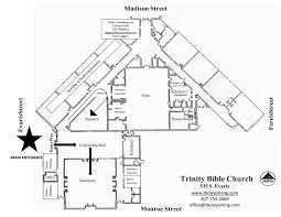 building map trinity bible church