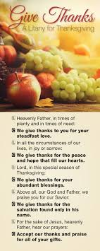 give thanks thanksgiving litany product goods creative