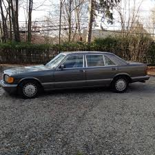mercedes s class 1986 vintage 1 owner 1986 mercedes s class sel 420 for sale