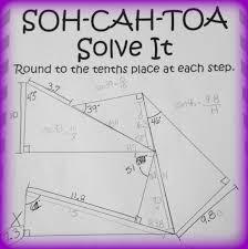 soh cah toa solve it 3 sine cosine u0026 tangent puzzles