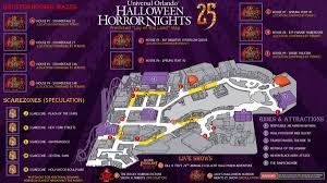 map halloween horror nights 25 halloween horror nights orlando pictures to pin on pinterest
