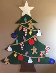 felt christmas tree felt christmas tree glittery 25