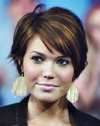 plus size but edgy hairstyles 104 best hair short fuller face images on pinterest easy