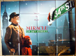Miracle On 34th Miracle On 34th Street Original Cinema Movie Poster From