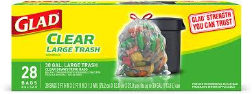 kitchen trash bags forceflex drawstring bags glad