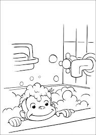 curious george coloring page nysgjerrige nils fargelegging