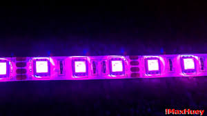 Remote Led Light Strips by My 3528 Led Light Strips With Remote Control Youtube