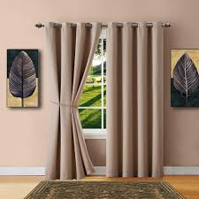 Designer Tie Backs For Curtains Warm Home Designs Taupe Blackout Curtains Valance Scarves Tie