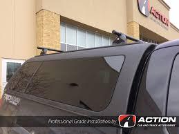 2005 Dodge Dakota Truck Cap - ram 1500 with matching dcu series cap with ladder rack by a r e