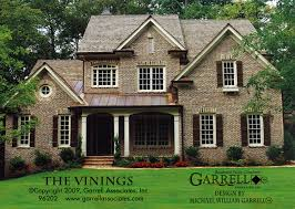 vinings house plan house plans by garrell associates inc