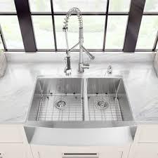 33 inch farmhouse kitchen sink view info soleil 33 x 20 75 apron front double bowl undermount