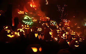 pumpkins jack o lanterns hd wallpaper background wallpapers for