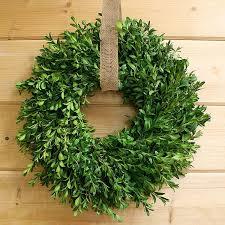 boxwood wreath fresh boxwood wreath handmade wreaths by creekside farms