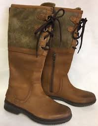 s ugg australia elsa boots ugg australia elsa boots waterproof leather chestnut size 6