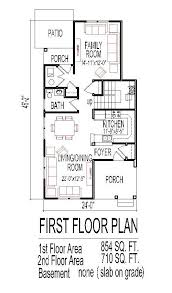 Narrow Lot 4 Bedroom House Plans Mesmerizing 5 Bedroom House Plans Narrow Lot Images Best