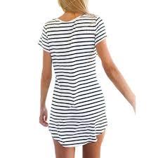 jackie o nautical stripe boho dress in with stripes