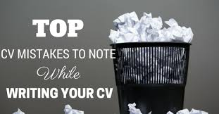 Resume Mistakes Top 39 Cv Mistakes To Note While Writing Your Cv Checklist Wisestep