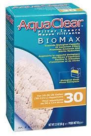 amazon com aquaclear 30 gallon biomax aquarium filter