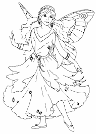fairy coloring pages adults fairy coloring pages easy