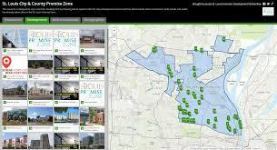 Tower Of Joy Map St Louis Economic Development Partnership St Louis Economic