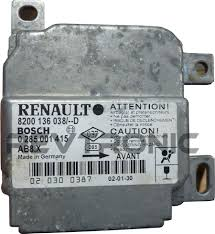 renault clio 8200 136 038 airbag crash data reset
