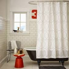 Simple Shower Curtains Modern Shower Curtain Foter