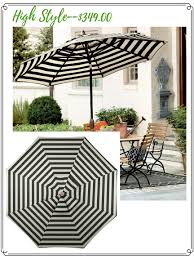 Black And White Patio Umbrella Black And White Patio Umbrella Home Outdoor Decoration