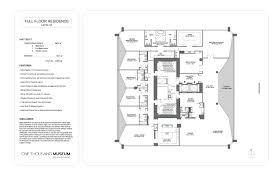 1000 venetian way floor plans 1000 museum luxury condo property for sale rent af realty af