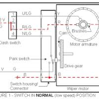 wiring diagram lucas wiper motor yondo tech