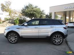silver range rover 2015 indus silver metallic 2013 land rover range rover evoque pure