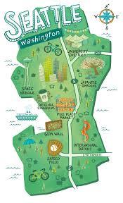 Washington State Printable Map by Best 25 Washington State Map Ideas On Pinterest Seattle Sea
