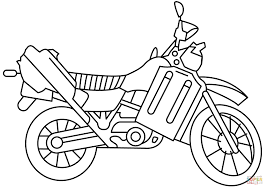 new motorcycle coloring page 4 2243