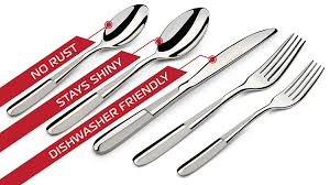 amazon com silverware set 20 piece for 4 polished forks spoons