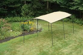 decor black steel frame portable canopy canvas carport for simple