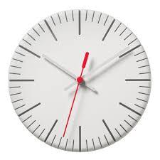 Horloge Murale Rouge by Horloge Murale Split Time Blanc Trotteuse Rouge Authentics