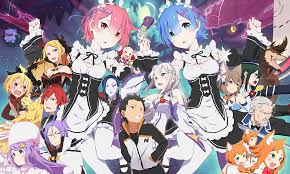 subaru and emilia wallpaper re zero starting life in another world full hd wallpaper and